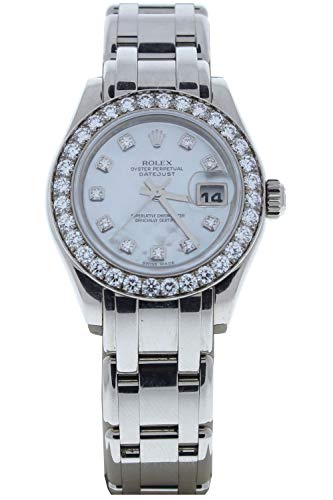 Rolex-Ladys-Masterpiece-80299-18k-White-Gold-Watch-Mother-of-Pearl-Diamond-Dial-Diamond-Bezel-Factory-Original-Certified-Preowned