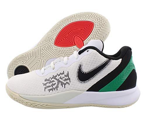 Nike Kids' Preschool Kyrie Flytrap II Basketball Shoes (White/Green, Numeric_1)