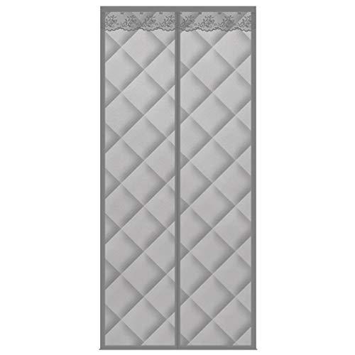 ZZLYY Cortina para puerta de entrada, tejido de piel sintética, cortavientos, calor, aislamiento térmico e impermeable, se puede utilizar para puerta de entrada, puerta de salida, 120 x 200 cm