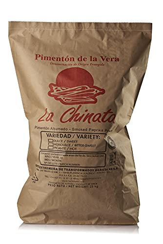 Saco 25 kg pimentón dulce La Chinata