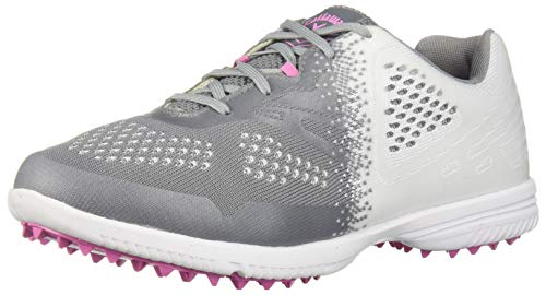 Callaway Women's Halo SL Golf Shoe, White/Grey, 6.5 M US