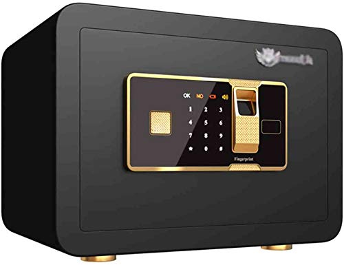 XLBHSH Safe Digital Security Keyboard Luxus Electronic Digital Digital Diebstahl Sicherheit Stahl Sicherheit Home Security Private Security Piggy Bank,Schwarz