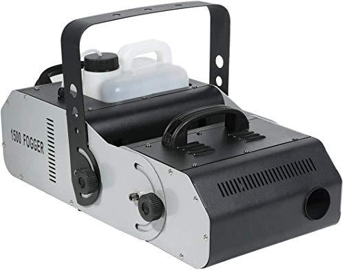 Tengchang DMX512 1500W Multi-Angle Fog Machine Smoke Fogger for Halloween Party w/Remote