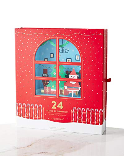 Sugarfina Candy Advent Calendar! Includes Caramels, Gummy Candies, Cookie Bites, Mint Chocolates And More! Advent Calendar For Kids! A Sweet Way To Count For Christmas!