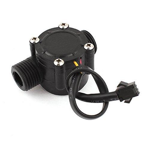 0.5-30L / min 0.8Mpa G1 / 2 Agua Fluid Flow sensor Hall Meter Caudalímetro