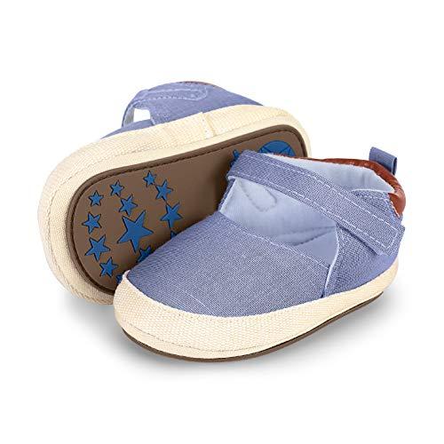 Sterntaler Baby-Schuh Slipper, Blau (Himmel 325), 17/18 EU