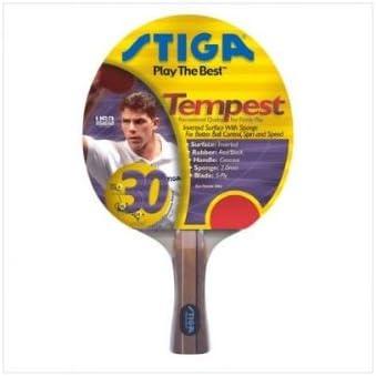 Under blast sales STIGA T0020 Tempest Table Sales results No. 1 Racket Tennis