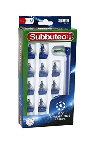 Giochi Preziosi - Subbuteo Squadra Calcio 11 Giocatori, Blues