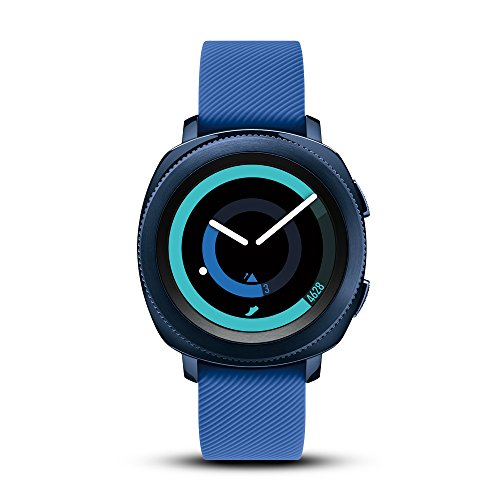 Samsung Gear Sport Smartwatch (Bluetooth), Blue, SM-R600NZBAXAR - US Version with Warranty