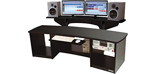 Omnirax Force 24 Studio Desk Black