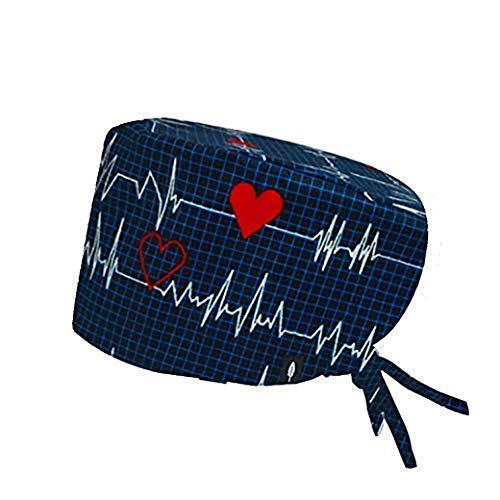 ROBIN HAT - Op-haube Electrocardiograma Langhaar-modell - 100% Baumwolle (autoklav).