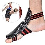 Alomejor Protezione del Piede di Boxe, Tutore per Caviglia di Muay Thai Taekwondo Protezio...