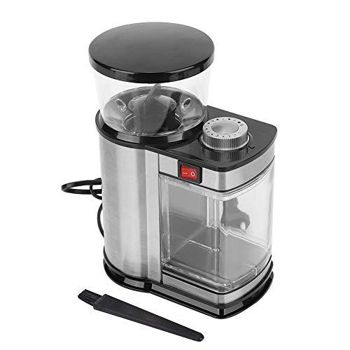 Koffiemolen, koffiemolen Elektrische koffiemolen Huishoudelijke cafés 9 versnellingen Elektrische koffiemolen mixer Koffiemolen Grinder Elektrische bonenmolen EU Plug 220-240V(EU)