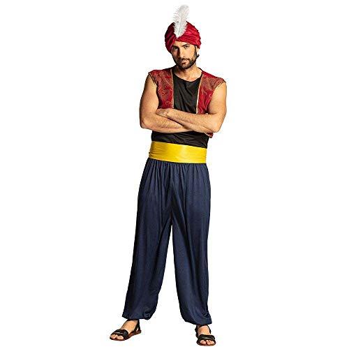 Boland 83839 – Adultes Costume Aziz Bleu