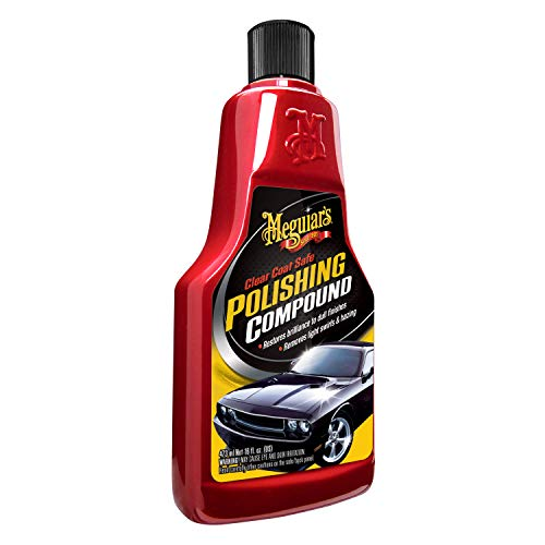 Meguiar#039s Clear Coat Safe Polishing Compound 16 oz