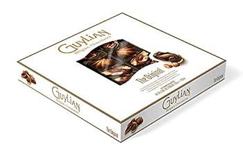 GuyLian Belgian Chocolate Gift Box Includes Silky Smooth Sea Shell Shaped Milk Chocolates with a Creamy Hazelnut Praline Filling 22 Count