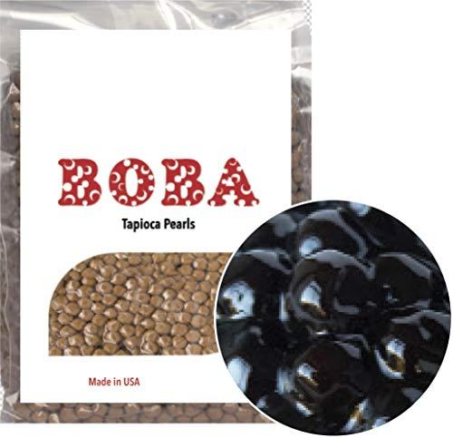 US Boba Tapioca Pearl Bubble Tea 1lb Made in USA for Milk Tea Coffee Shaved Ice Topping USA 1 lb