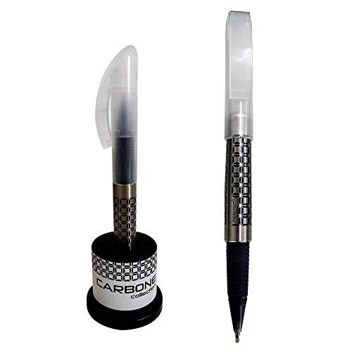 Bolígrafo Roller Inoxcrom Carbone XTREME Tinta de GEL Cuerpo Lacado presentado en estuche TUBO