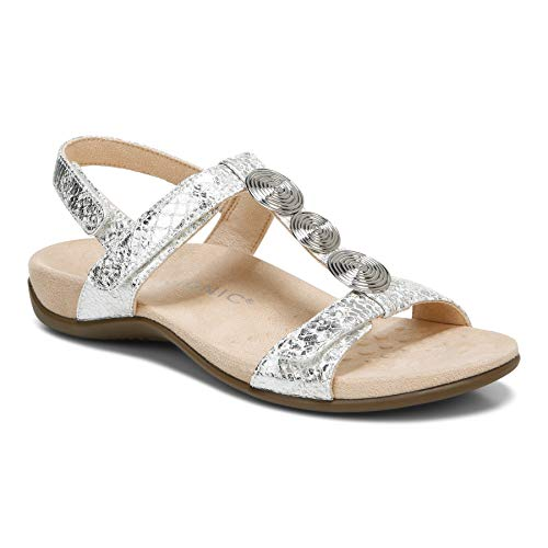Vionic Women's Rest Farra Backstrap Sandal - Ladies Adjustable Sandals with...