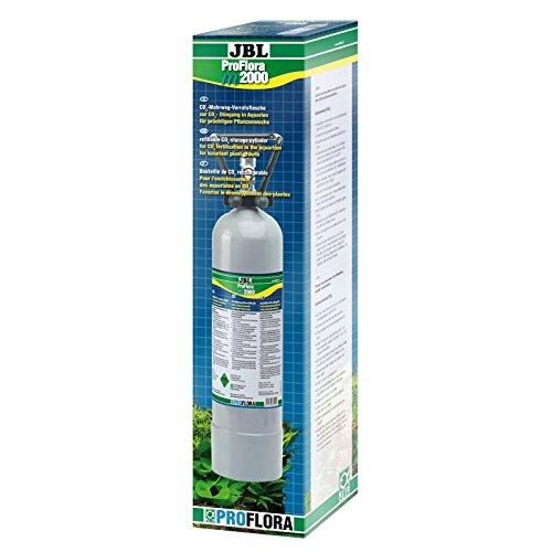 JBL ProFlora m2000 63202 Mehrweg Vorratsflasche für Düngeanlagen in Süßwasser-Aquarien, 2 kg