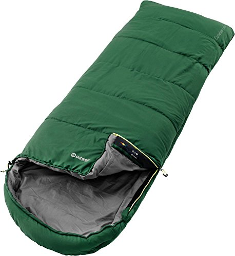 Outwell Saco de Dormir univesal Campion Lux Green