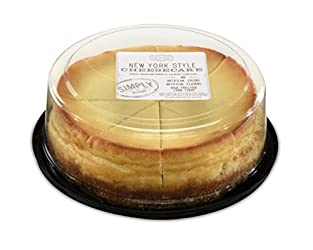 Simply, Clean Label, New York Style Cheesecake with a Graham Cracker Crust, 24 ounces (sold frozen)