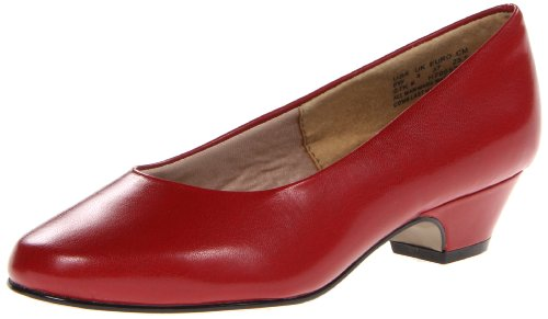 Hush Puppies Women's Angel II Dress Pump, Red Elegance, 8 Narrow US
