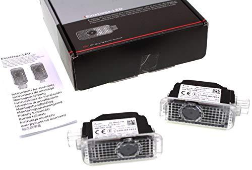 Audi 4G0052133H Einstiegs-LED quattro für Fahrzeuge mit LEDEinstiegsleuchten (schmaler Stecker)
