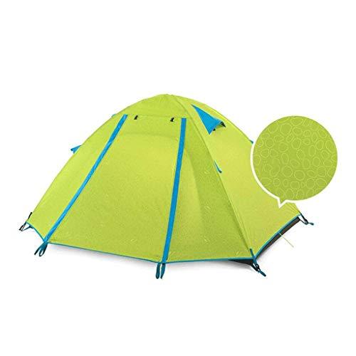 tent Equipo al aire libre 4 personas impermeable, a prueba de humedad, control de plagas equipo de camping al aire libre (color: A)