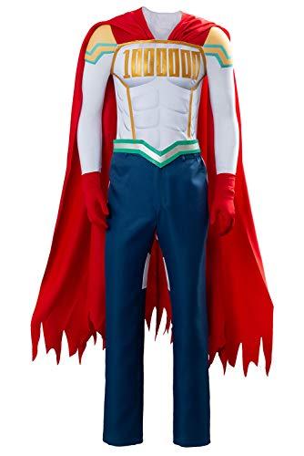 RedJade My Hero Academia Boku no Hero Academia Lemillion Mirio Togata Uniforme Traje de Cosplay Disfraz Hombres XXXL