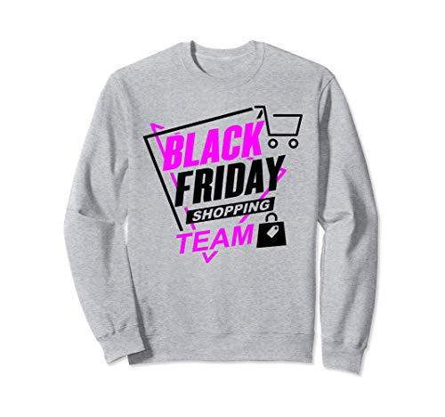 Compras navideñas Equipo de compras del Viernes Negro Divert Sudadera