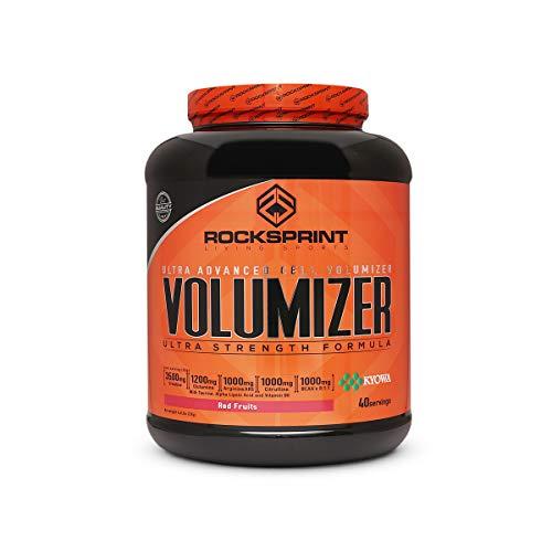 ROCKSPRINT | VOLUMINIZADOR MUSCULAR | Maxima Fuerza y Volumen | Volumizer | 2kg Frutos Rojos