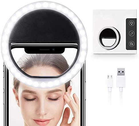Selfie Ring Light for iPhone Mini Circle Light for Camera Computer Laptop Top Video Conference product image