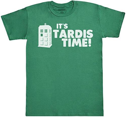 Men's It's TARDIS Time T-shirt in 4 Colours