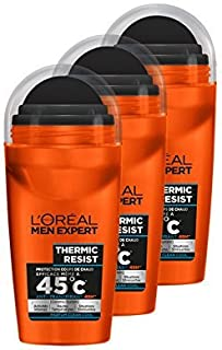 L'Oréal Men Expert Thermic Resist Déodorant Bille Homme Pack of 3