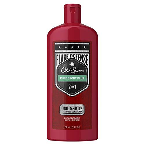 Old Spice Pure Sport Plus Men's 2in1 Anti-Dandruff Shampoo and Conditioner, 25.3 fl oz