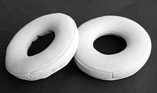 ohrpolster ohrschalten Flannelette Kissen ersatzteile für Pioneer pro dj hdj-700-k dj hdj700 kopfhörer (earmuffes) Headset (weiße ohrschalten)