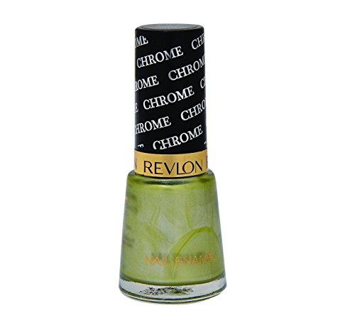 Revlon Nail Enamel, Green Leaf Chrome, 8ml