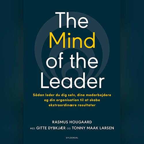 The Mind of the Leader (Danish edition) audiobook cover art