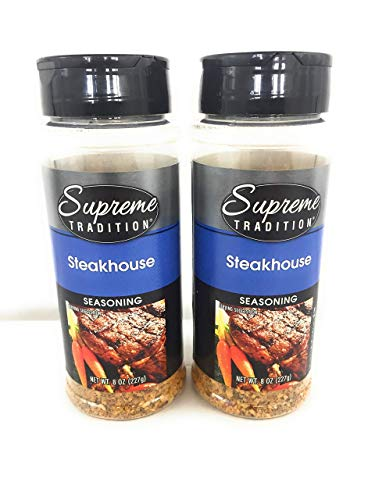 Supreme Tradition Steakhouse Seasoning 8 oz (Pack of 2)