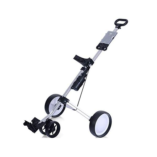 CBPE-Chariot-De-Golf-Compact–4-Roues-Chariot–Tirer-Lger-Facile–Ouvrir-avec-Tableau-Daffichage-Transport-Et-Pliage-Faciles