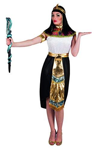 Boland- Regina del Nilo Nefertari Costume Donna per Adulti, Oro/Bianco/Nero, M, 83803