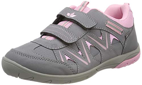 Lico Damen Kolibri V H Sneaker, Grau (Grau/Rosa), 39 EU