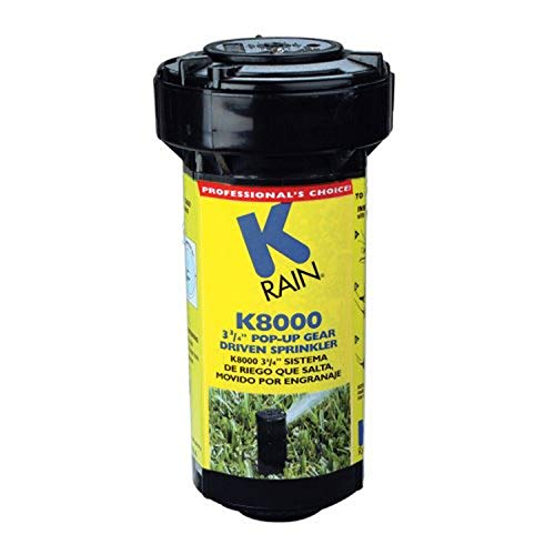 K Rain K8000 3-3/4-Inch Pop-Up Gear Drive Sprinkler 81031