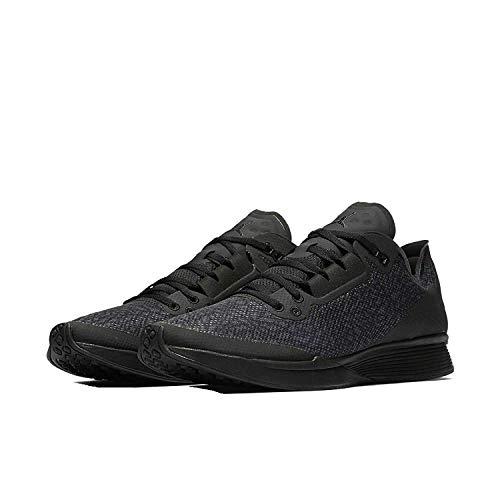 Nike Mens Jordan 88 Racer Low Top Lace Up Basketball, Black/Black, Size 10.0