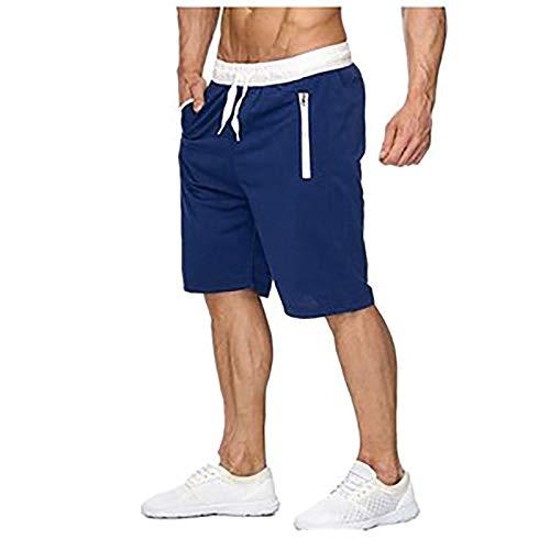 Xiangdanful Herren Vintage Cargo Shorts Kurze Hose Bermuda Shorts Sommer Herren Shorts Sporthose für Freizeit Sport Jogging Sport Shorts Herren Kurze Hose