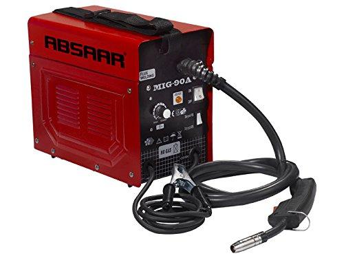 ABSAAR AB-MIG90A Schweißgerät Mig 90 Amp, Rot