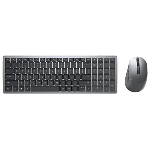 Dell Multi-Device Wireless Keyboard and Mouse - KM7120W - UK (QWERTY)