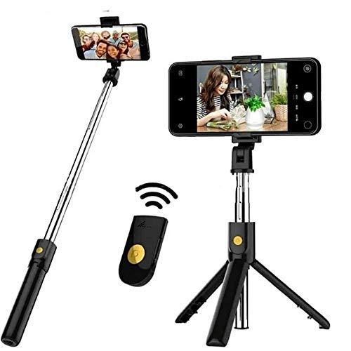 Bastão Tripe De Selfie com tripé controle remoto