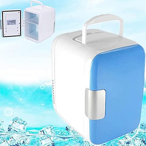 YINGGEXU mini nevera 4L Mini 12V Coche Refrigerador portátil para acampar Conducción en el refrigerador de refrigerador de refrigerador de refrigerador del refrigerador del refrigerador del refrigerad